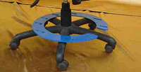 圆型椅子固定椅子压板