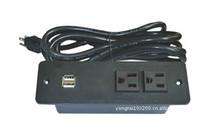 美式二位插座+USB TY111-02CS