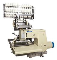 二十五针、三十三针平台型直驱勾针纵向双重环缝链式打缆缝纫机