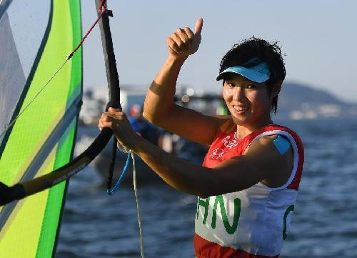 帆船选手陈佩娜:奥运会实现了我内心的渴望