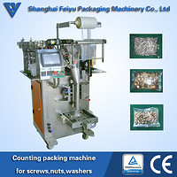 counting packing machine for screws nuts washers