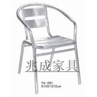 户外家具铝合金椅室外咖啡厅椅休闲椅