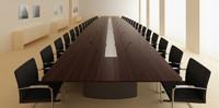 Holzmedia C1会议桌