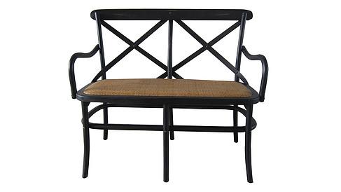 双人交叉背餐椅