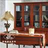 卡米埃系列全实木书房家具
