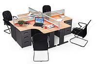 组合式屏风办公桌
