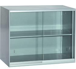 上置玻璃移门-文件柜