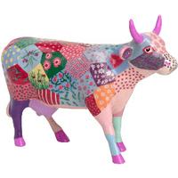 CowParade彩绘树脂牛