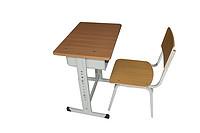 单人可调课桌椅