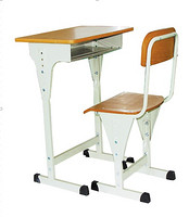 1+1student table and desk