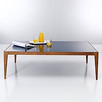 橡木彩玻璃茶几,咖啡桌120X80