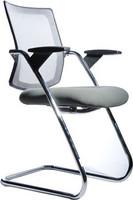 弓形架网背布座会客椅5390C