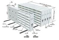 Mobile shelves system