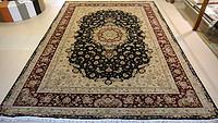 160道手工大尺寸丝毛波斯地毯