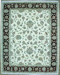 120-140道手工打结哈萨克风格羊毛地毯