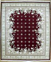 160L手工打结羊毛加丝欧式地毯