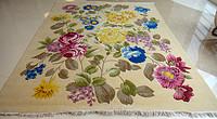 120道手工打结花卉地毯