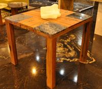 梦幻蓝宝木桌