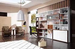 迈阿密系列胡桃木书房家具