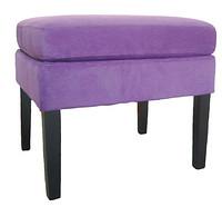 绒布实木梳妆凳 JRYZ-4008