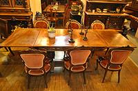 西洋古董家具之餐桌系列