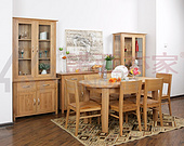 清风雅致系列-餐厅家具