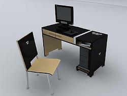 体校电脑桌