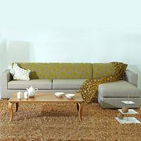 曲美家具 家具套装客厅家具组合 沙发+长茶几+电视柜
