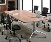 会议文件桌 板式会议桌 六人会议桌