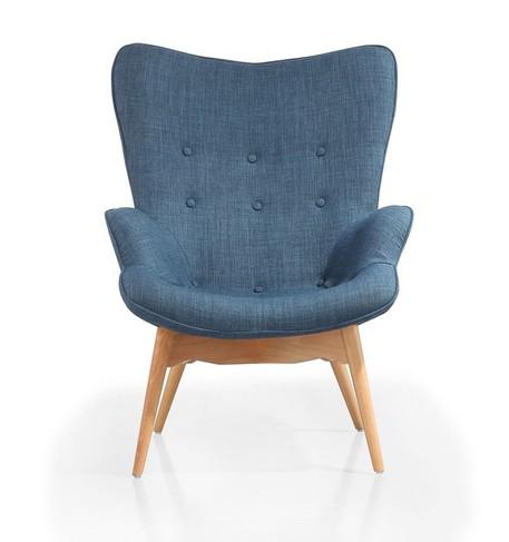 实木定型棉休闲酒店餐桌餐椅花椅泰迪熊椅单人沙发