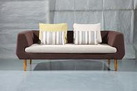 实木高品质休闲酒店客厅餐厅欧式简约风格沙发552-2