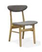 实木高品质休闲酒店客厅餐厅欧式田园简约风格餐椅248
