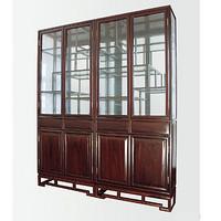 鲁木匠  实木古典书柜