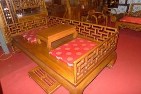 鲁木匠  实木仿古古典床榻类