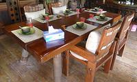 鲁木匠  实木仿古古典餐桌