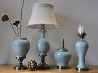 简约现代时尚家居客厅陶瓷摆设四件套