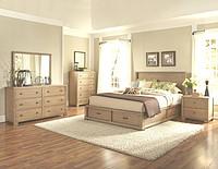 现代美式卧室家具