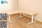 三脚电动升降办公桌支架