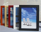 hot sale solid pine wood photo frame