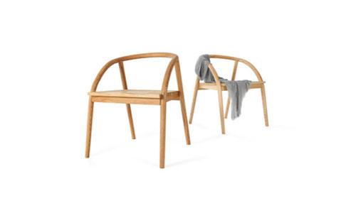 设计资讯 3款家具设计:返璞复简,而静于形    这款书桌造型简单,单边