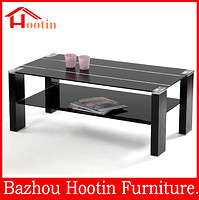 new design two layers high gloss coffee table, made in china