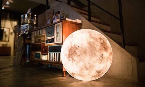 国家大型3D打印月球灯制作厂家-全国批发价格