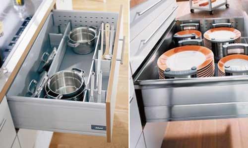 厨柜内部空间结构的