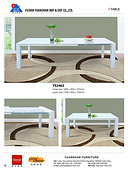 YS2463 EXTENSION DINING TABLE