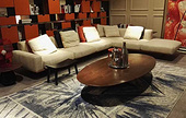 SF8672L6 feather fabric sofa --- SF8672L6 羽绒布艺沙发