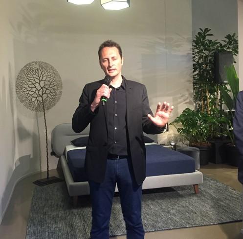 行业资讯首页 行业资讯 品牌资讯 慕思米兰发布2016新品    设计师