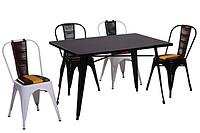 时尚铁质餐桌餐椅