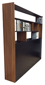 書架, 展示架, 隠型床
