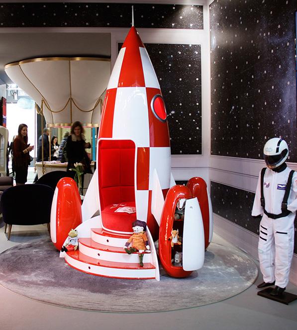 梦幻创意的儿童家具设计充满魔力