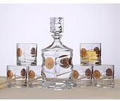 捷克酒具 威士忌 风帆金阿波罗酒具系列